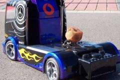 FG AMG Racing Truck 1:5 von hinten